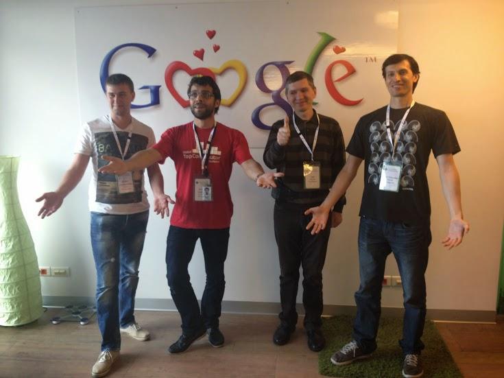 Саммит ведущих участников Google