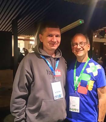 Я и John Mueller в Дублине