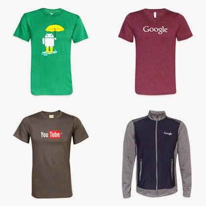 Как купить в Америке атрибутику Google