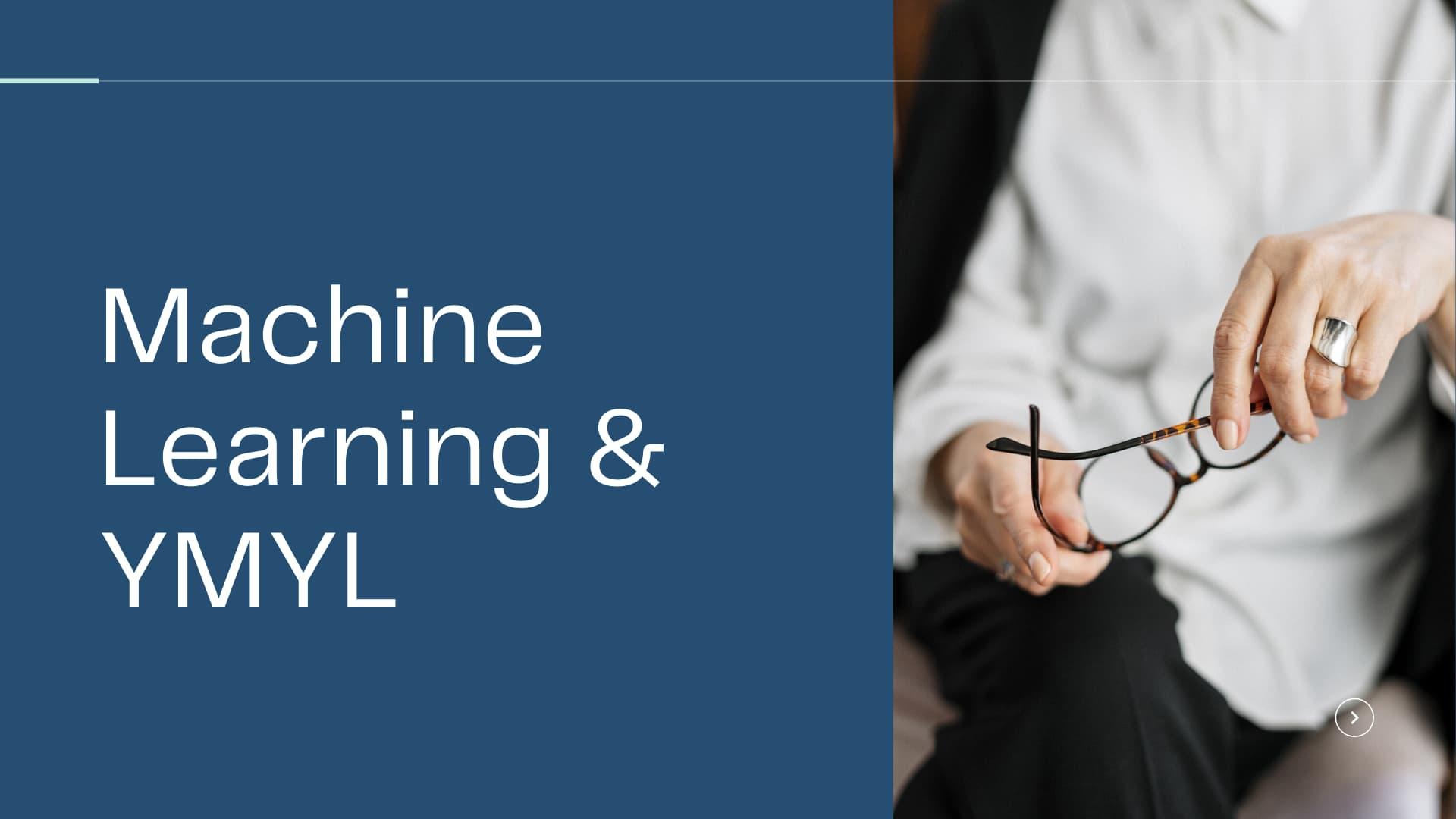 Машинное обучение для анализа тем YMYL страниц